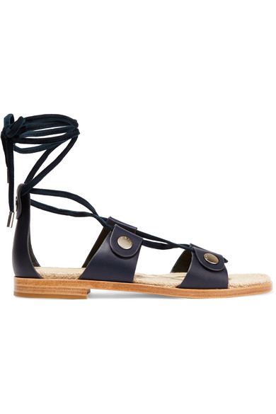 e023a0c5fb45 Rag   Bone Evelyn Lace-Up Flat Leather Sandal