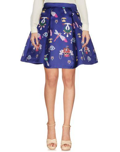 Mary Katrantzou Knee Length Skirt In Purple