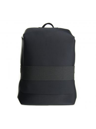 71a454f750742 Y-3 Black Neoprene Small Qasa Backpack