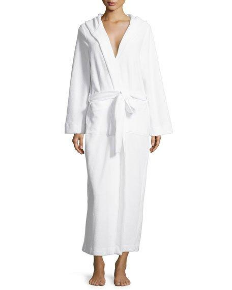 fd73734912 Hanro Robe Selection Terry-Towelling Robe In White