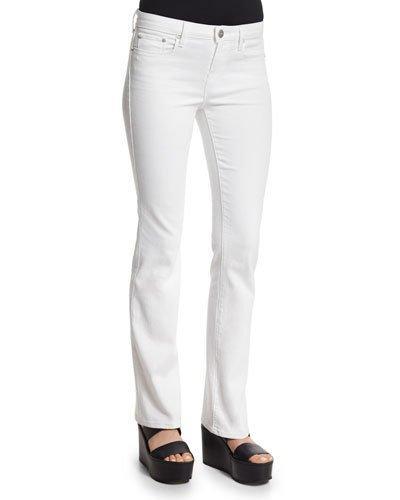 Vince Charlotte Slim-straight Pants, Optic White
