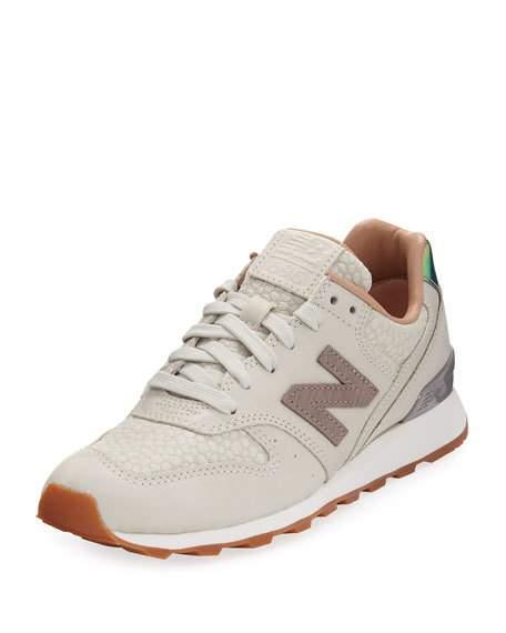 34cbb3de922de New Balance Women's 696 Casual Sneakers From Finish Line In Powder ...