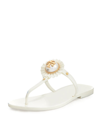 615d7448e2b9 Tory Burch Melody Pearly Flat Thong Sandal