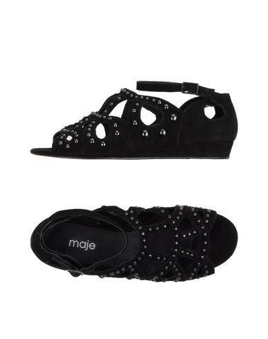 Maje Sandals In Black