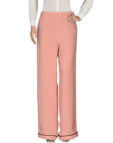 Rochas Casual Pants In Pastel Pink