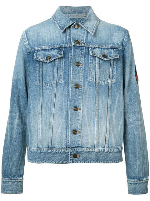 f56b7df1 patch detail denim jacket