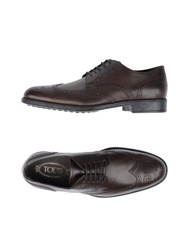 Tod's Laced Shoes In Cocoa