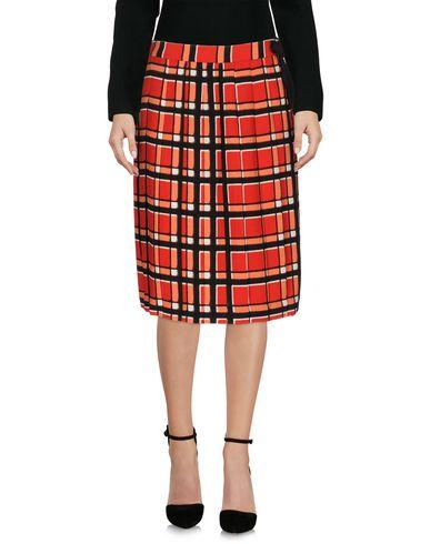 Marc By Marc Jacobs Knee Length Skirt In Red