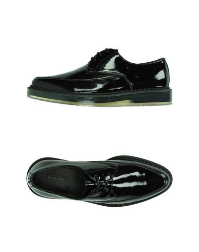 Diesel Laced Shoes In Black