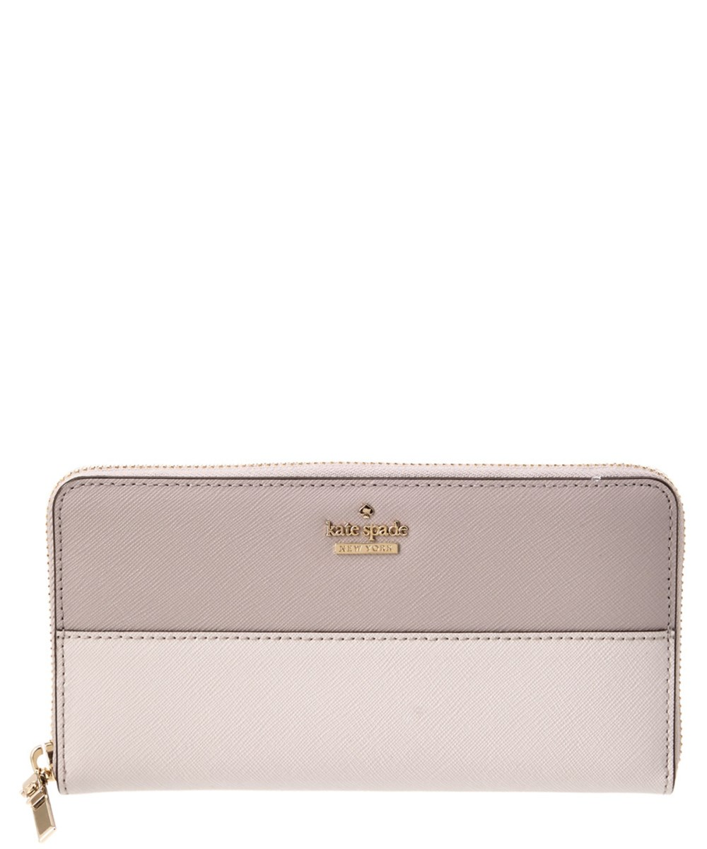 Kate Spade New York Cameron Street Lacey Leather Wallet' In Beige
