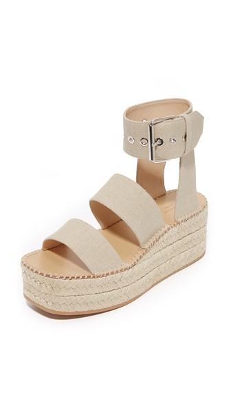 4bd345d9312 Rag   Bone Tara Canvas Espadrille Platform Sandals In Natural
