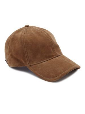 ab3c480b03d95 Rag   Bone Marilyn Suede Baseball Cap - Brown In Camel
