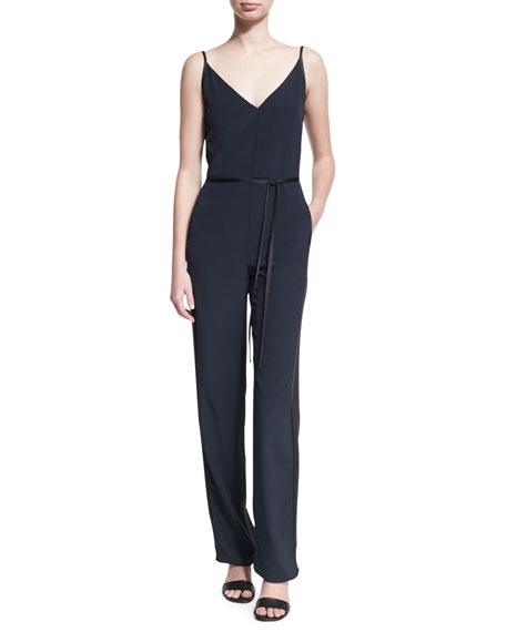 f30e171ae0ca Rag   Bone Rosa Silky Jumpsuit In Black