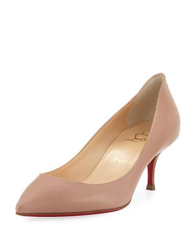 ea6f5fcb9bd Christian Louboutin Pigalle Follies 55Mm Patent Red Sole Pump