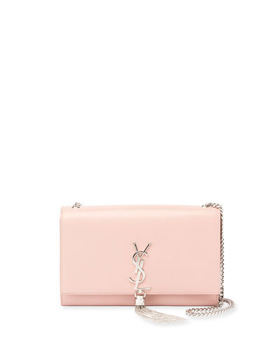 a301fb7c0c03 Saint Laurent Medium Kate - Tassel Calfskin Leather Shoulder Bag - Pink
