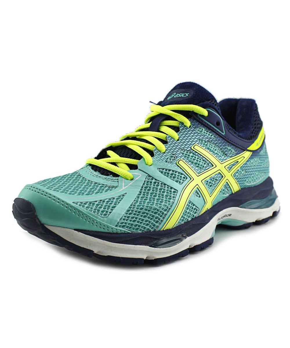 Asics Gel-cumulus 17 Women 2a Round Toe Synthetic Green Running Shoe