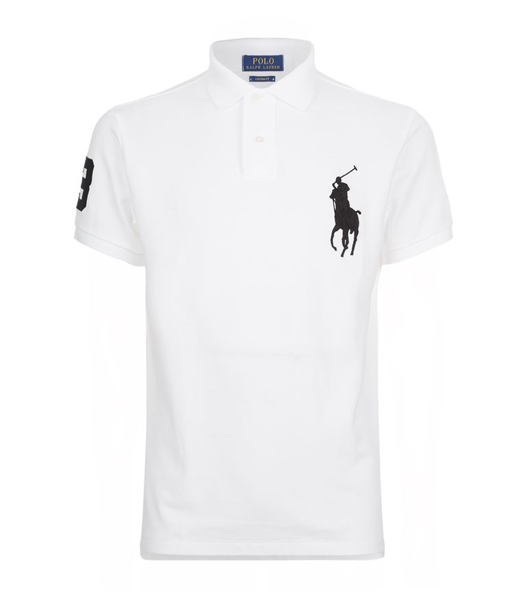 ea8238801 Polo Ralph Lauren Giant Pony Custom Fit Polo Shirt In Multi