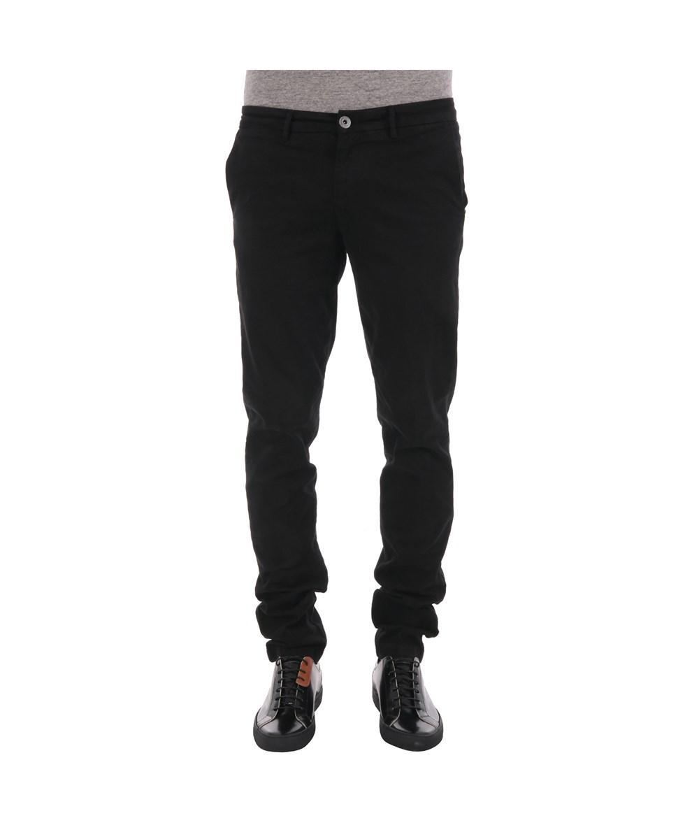 Trussardi Men's  Black Cotton Pants