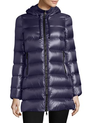 e8be4d533f79 Moncler  Serinde  Padded Jacket In Blue