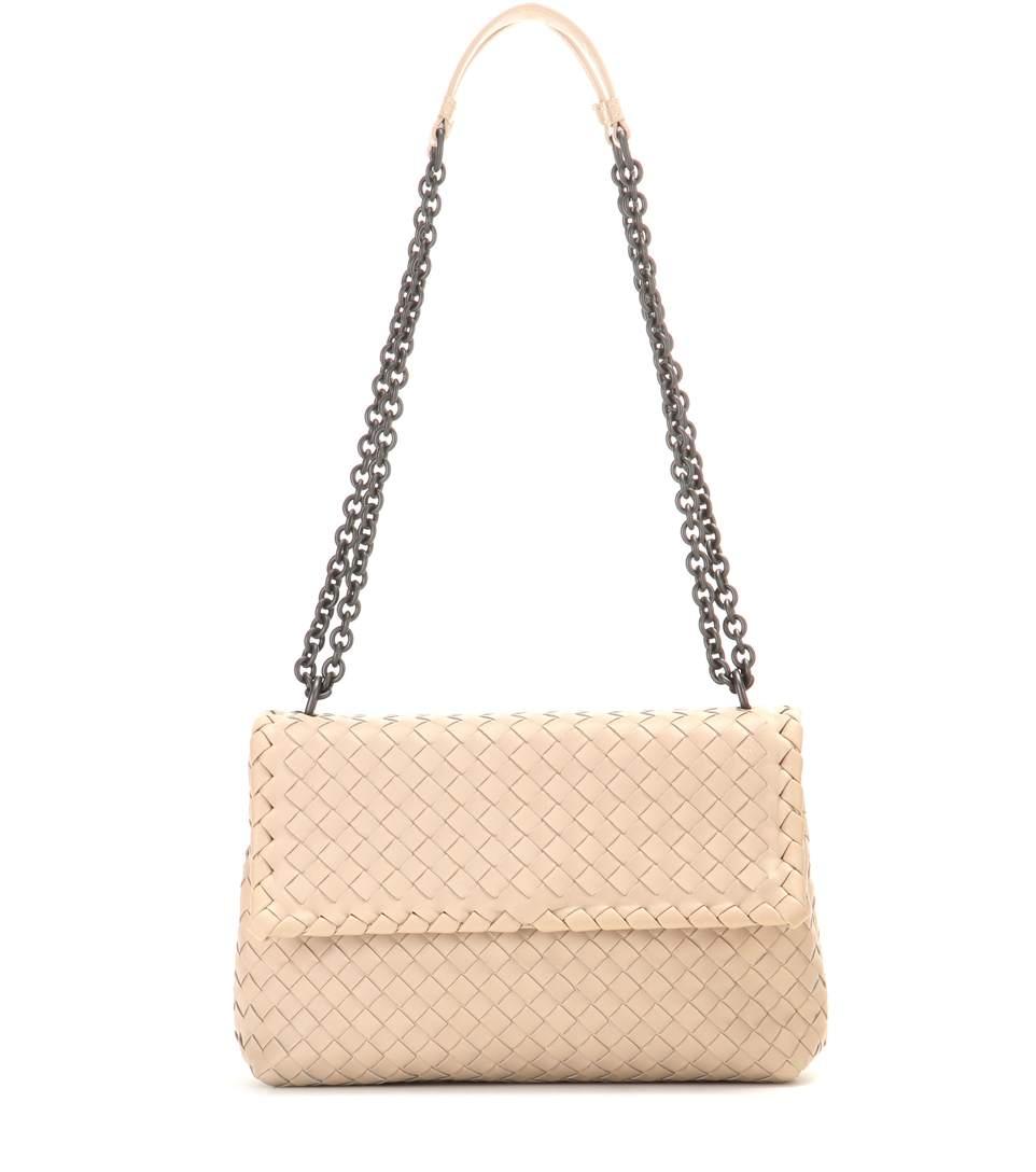 4c1e9eccd157a Bottega Veneta Olimpia Small Intrecciato Leather Shoulder Bag