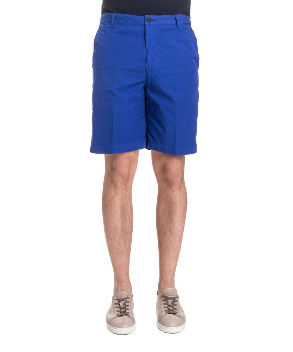 Kenzo Men's  Blue Cotton Shorts