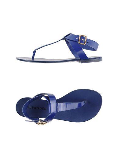 Jil Sander Flip Flops & Clog Sandals In Blue