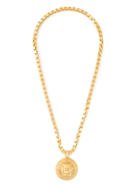 Versace 'medusa' Halskette Mit AnhÄnger In D00hs Gold
