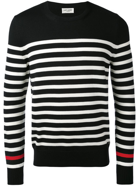 770dbc98d446 STRIPED KNITTED SWEATER