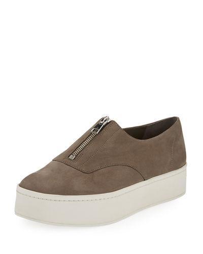 523cd1d2aca3 Vince Warner Zip-Front Platform Sneaker