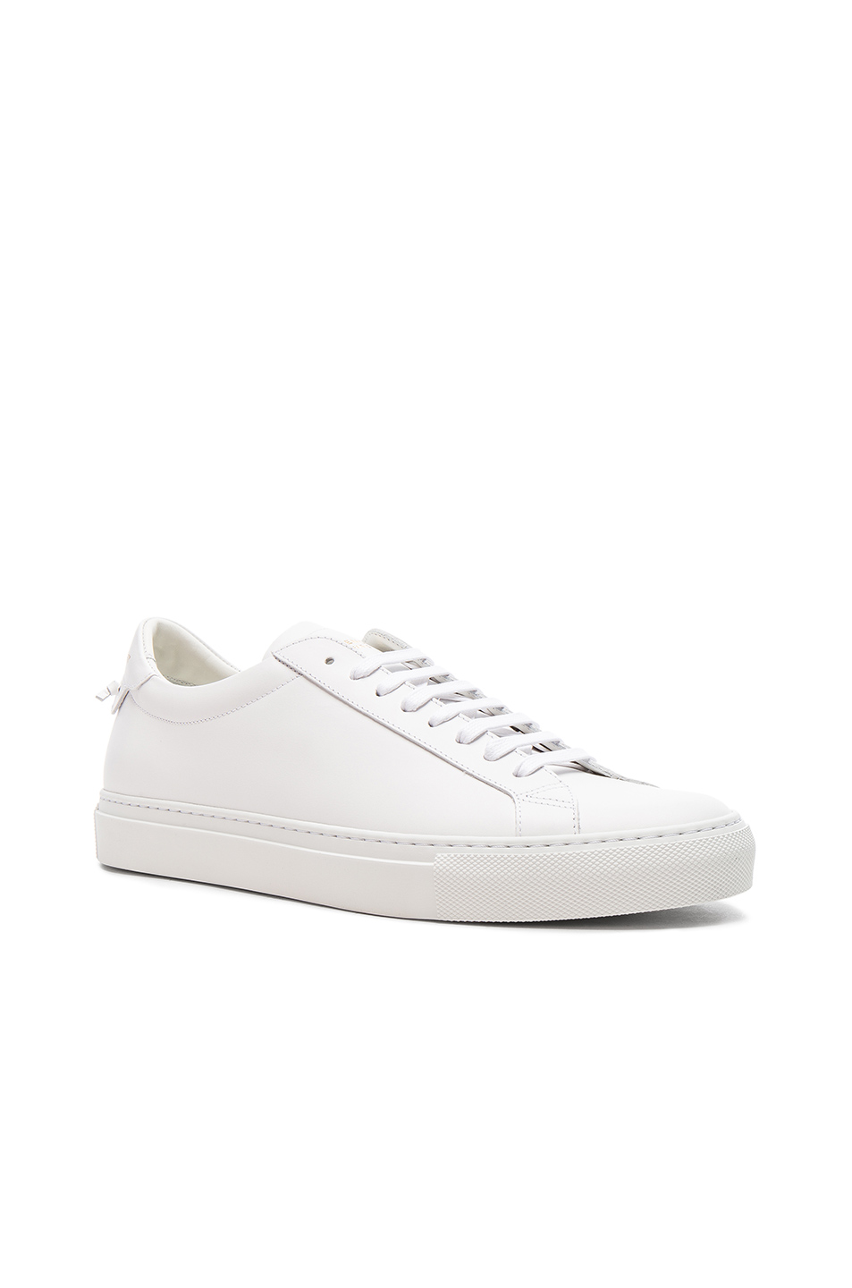 Givenchy Men's Urban Street Sheep Leather Sneakers In White