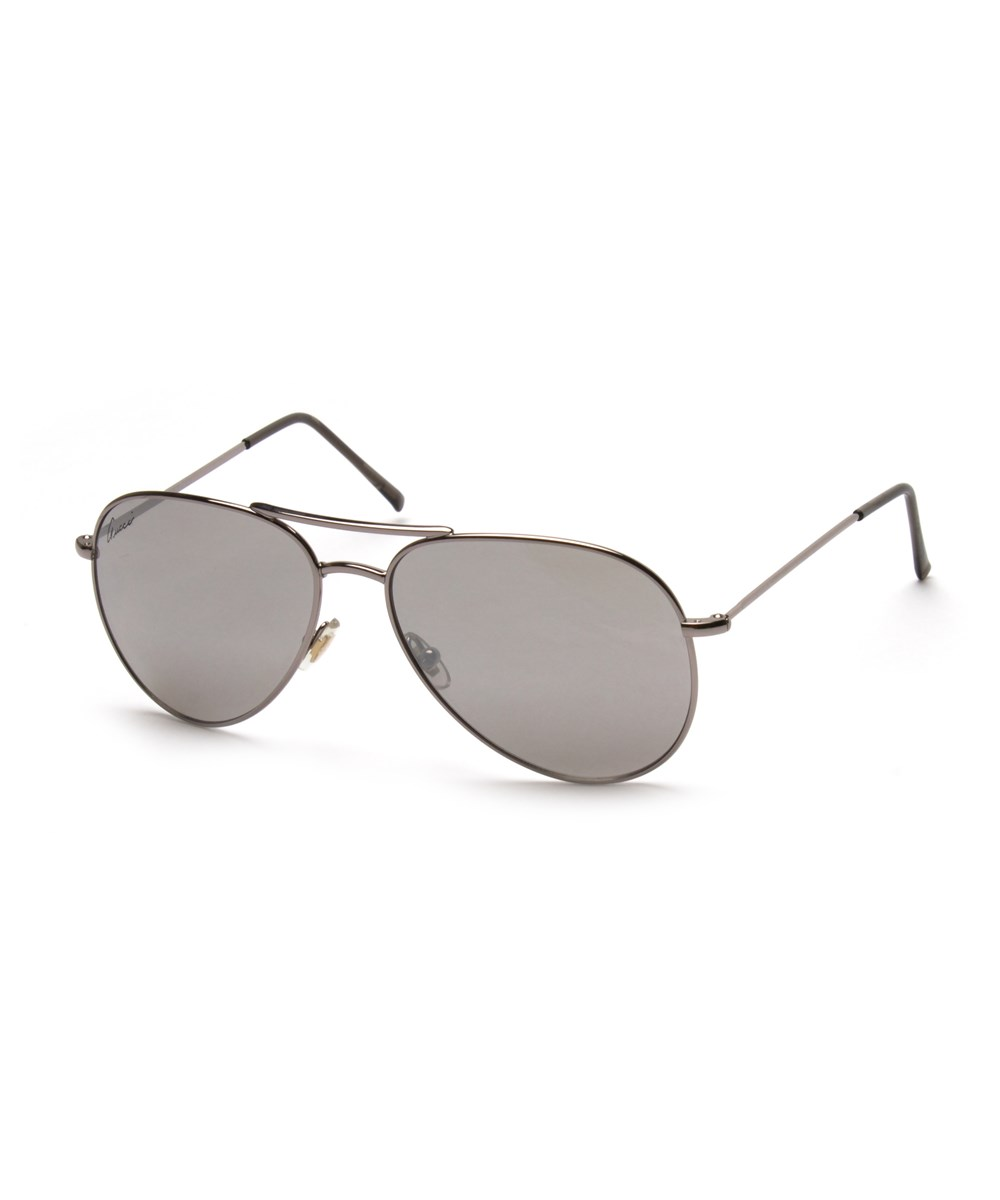 Gucci Men's Women's Unisex Aviator Sunglasses 1287/s Silver