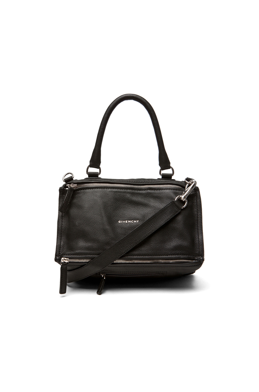 Givenchy 'Small Pepe Pandora' Leather Crossbody Bag - Black