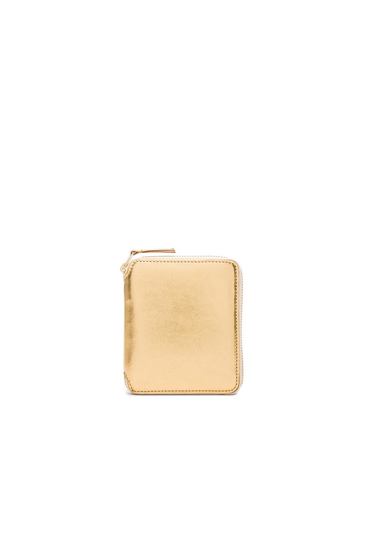 Comme Des GarÇons Gold Line Zip Wallet