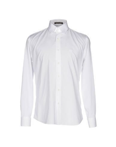 Roberto Cavalli Solid Color Shirt In White