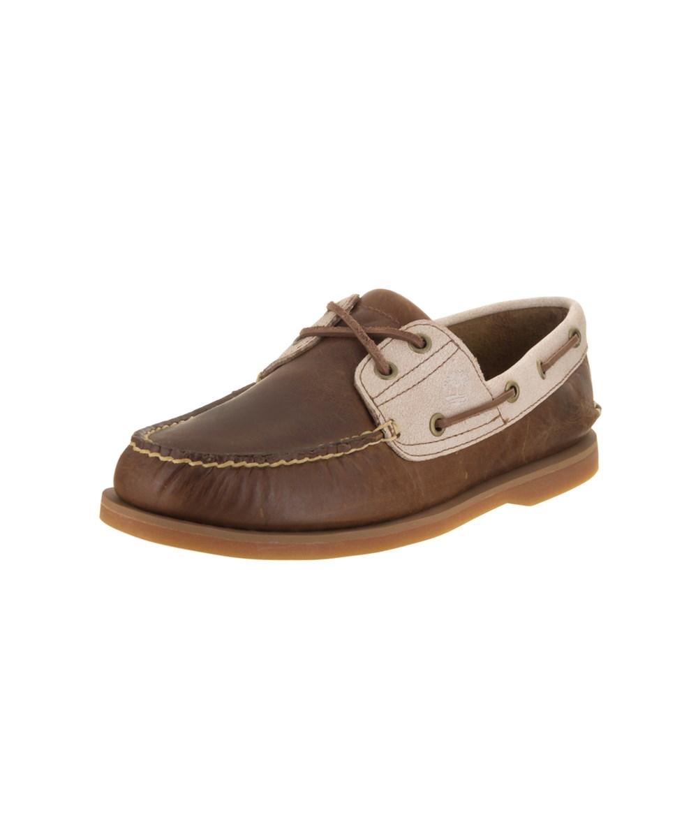 Timberland Men's Classic 2-eye Boat Shoe In Brown