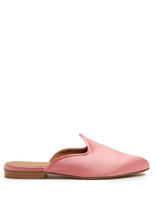 Backless Shoes Satin Beryl In Slipper Light Venetian Pink Le Monde wNXnP80kO