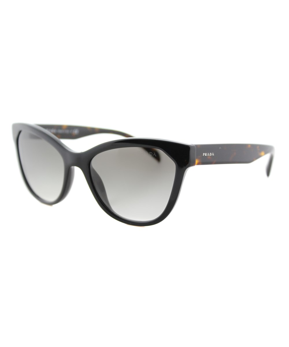 Prada Cat-eye Plastic Sunglasses In Black
