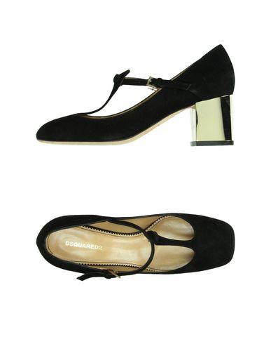 Dsquared2 Golden Heel Pumps In Black