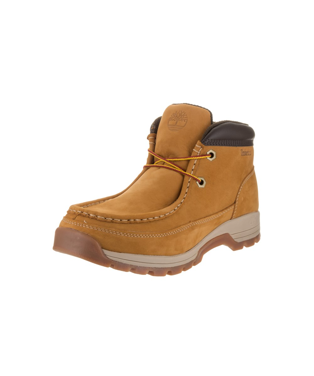 Timberland Men's Stratmore Moc Toe Boot In Yellow
