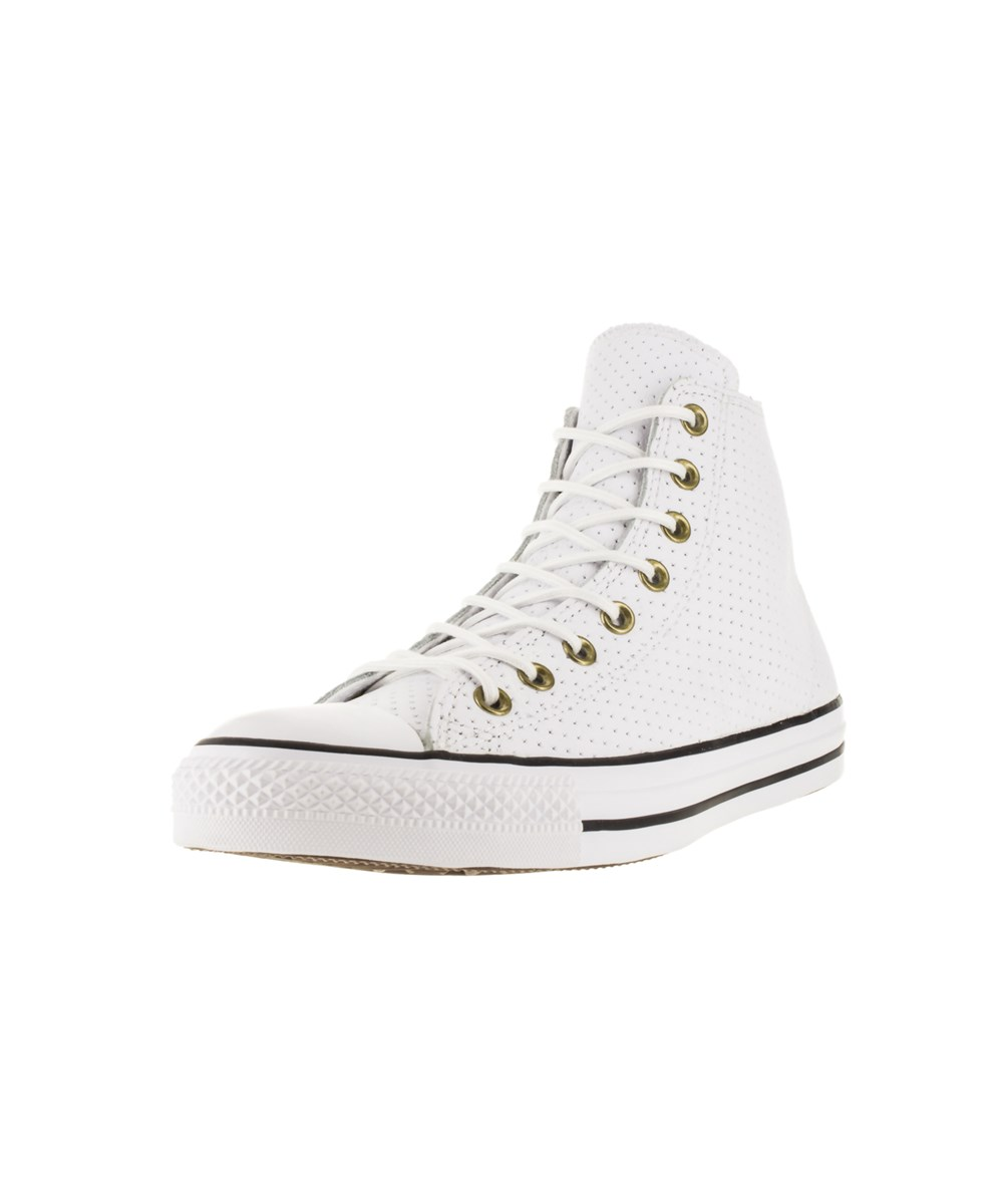 Converse Unisex Chuck Taylor All Star Hi Basketball Shoe In White