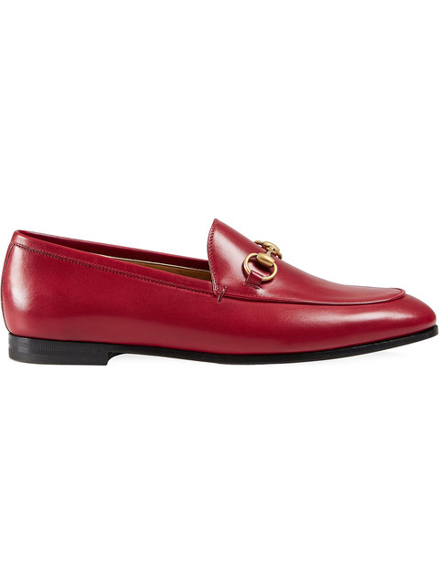 Gucci Brixton Horsebit Loafers - 红色 In Red / Gold