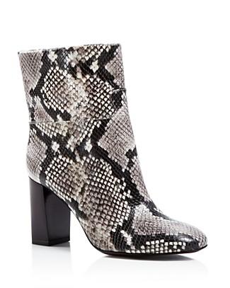 615787d806df9 Tory Burch Devon Snake-Print Leather Boot