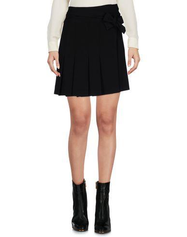 Marni Mini Skirt In Dark Blue