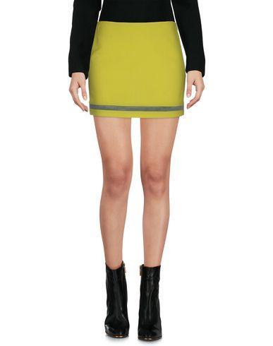 Dsquared2 Mini Skirt In Acid Green