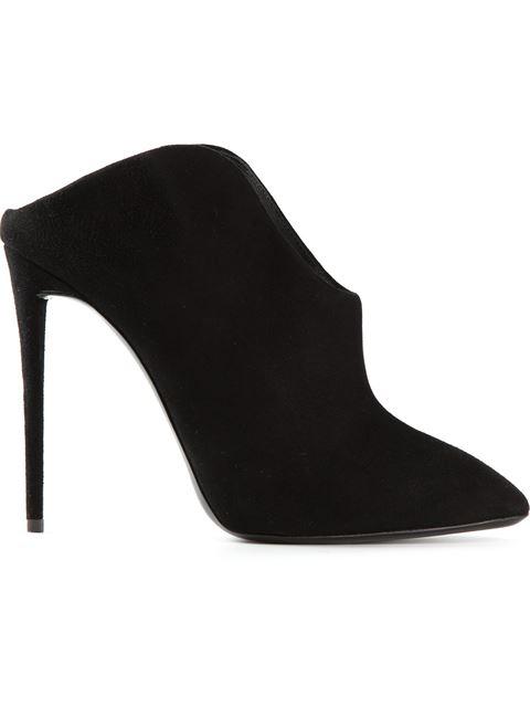 Giuseppe Zanotti Olinda Cutaway Heel Mules In Black