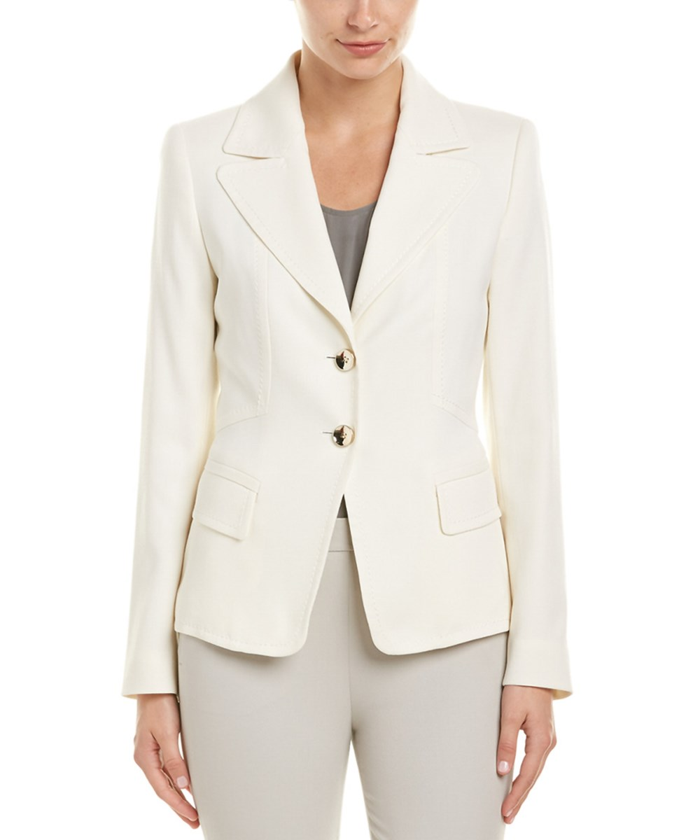 Escada Jacket In Off-white