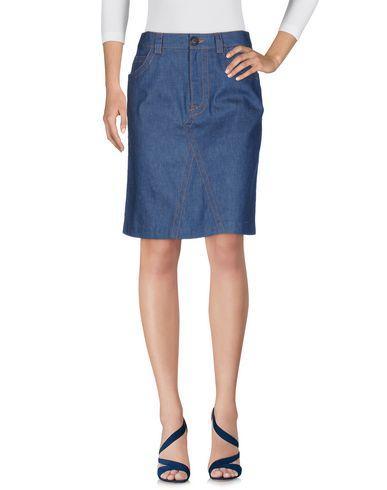 Prada Denim Skirt In Blue