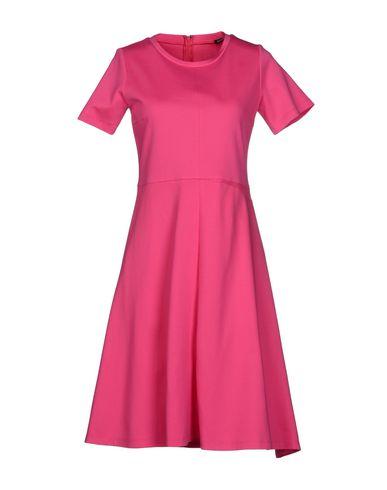 Jil Sander Knee-length Dress In Fuchsia