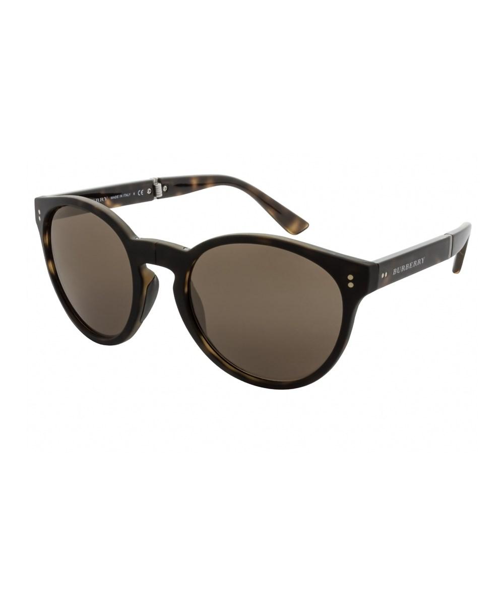 Burberry Unisex Be4221 55mm Sunglasses In Havana