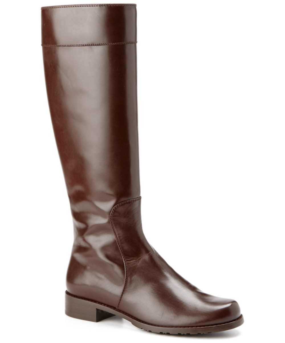 Stuart Weitzman Traveler Leather Boot In Multiple Colors